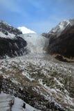 Kina - HaiLuoGou glaciärer Royaltyfri Fotografi