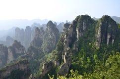 Kina Hunan Zhangjiajie Arkivbilder
