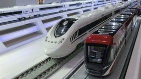 Kina järnväg snabb bilmodell Royaltyfri Fotografi