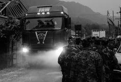 Kina jättejordskalv Royaltyfri Fotografi