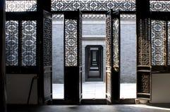 Kina jiangsu yangzhou, gammal historia, hus för RUANYUAN-` s royaltyfri fotografi