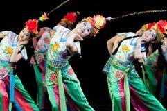 Kina kapaciteter för dans för Pekingopera Royaltyfri Bild