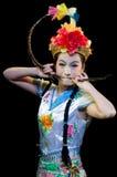 Kina kapaciteter för dans för Pekingopera Royaltyfria Foton