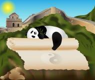Kina kort Arkivbild
