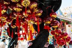 Kina lampa Arkivbild