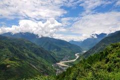 Kina landskap arkivfoton