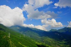 Kina landskap Royaltyfria Foton