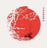 Kina landskap vektor illustrationer