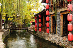 Kina - Lijiang Royaltyfri Bild