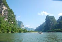 Kina Lijiang River Royaltyfri Fotografi