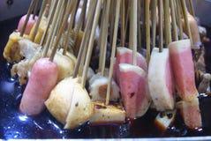 Kina mat: kryddigt varmt Royaltyfri Foto