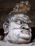 Kina norr Pingyao forntida skulptur Arkivbild