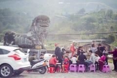 Kina nytt år royaltyfria foton