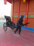 Kina paviljong på den globala byn i Dubai, UAE Royaltyfria Bilder