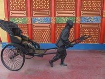 Kina paviljong på den globala byn i Dubai, UAE Royaltyfri Bild
