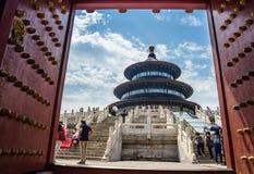 Kina Pekingtempel av himmel Royaltyfri Fotografi