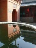 Kina Pingyao tempel Fotografering för Bildbyråer