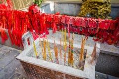 Kina rökelseugn Royaltyfri Fotografi
