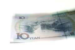 Kina RMB, YUAN Banknotes Royaltyfria Foton
