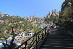 Kina Sanqing berg Royaltyfri Foto