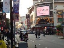 Kina Shanghai marknad Royaltyfri Fotografi