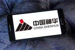 Kina Shenhua energilogo arkivbilder