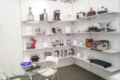 Kina Shenzhen konsumentelektronik och hem- anordningar brännmärker utställning Royaltyfri Foto