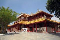 Kina slott Arkivfoto
