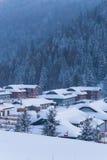 Kina snöförsamling Royaltyfri Bild
