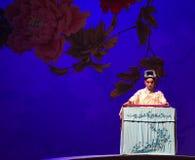 """Kina som spelar västra Chamber†för Guqin-The nischZhang Junrui-Kunqu Opera """"the  Royaltyfria Foton"""