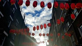Kina stad Arkivbild
