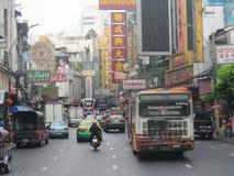 Kina stad i Bangkok, Thailand Royaltyfri Fotografi