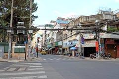 Kina stad i Sai Gon arkivbild
