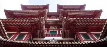 Kina stad Singapore royaltyfria bilder