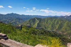 Kina stora vägg Royaltyfri Fotografi
