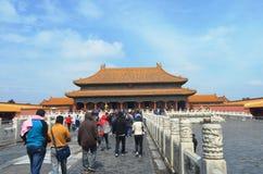 Kina tempel Arkivfoton