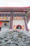 Kina tempel arkivfoto