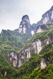 Kina Tianmen Shan Mountain royaltyfri foto