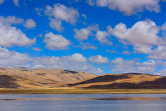 Kina Tibet snömoln Fotografering för Bildbyråer