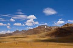 Kina Tibet snömoln Royaltyfria Foton