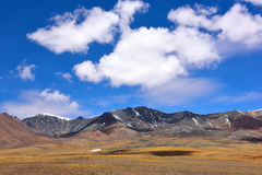 Kina Tibet snömoln Royaltyfri Foto