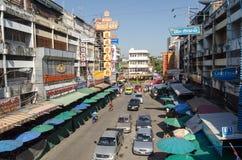 Kina Town, Chiang Mai Arkivfoton