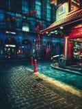 Kina Town i London royaltyfri foto