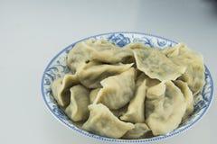 Kina traditionell mat -- Kokta klimpar Arkivfoton