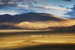 Kina XiZang landskap Arkivbild