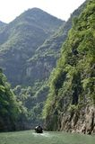 Kina Yangtze River Three Gorges scenisk extrakt Royaltyfri Bild
