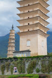 22 05 2015 Kina, Yunnan landskap, två nära Arkivbilder