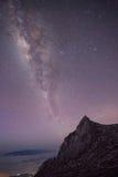 Kinabalau mjölkaktig väg Arkivfoto