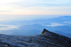 Kinabalu da montagem Fotografia de Stock Royalty Free