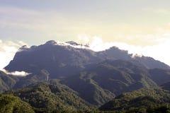 Kinabalu da montagem fotografia de stock